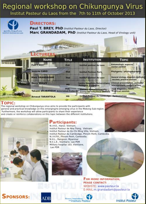 Chikungunya Virus annoucement